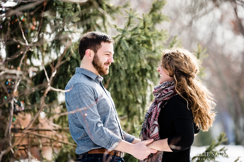 Michigan Winter Engagement Pictures, Winter Engagement Session
