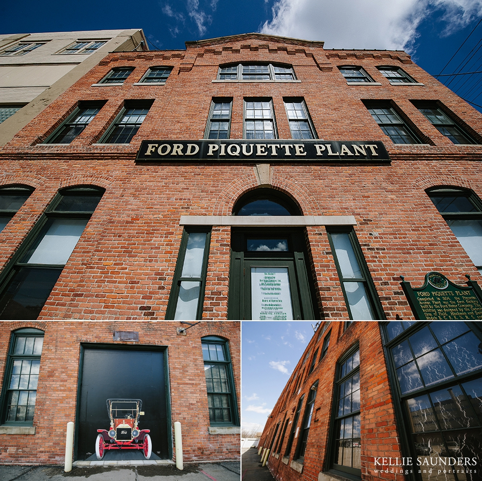 Ford Piquette Plant Wedding