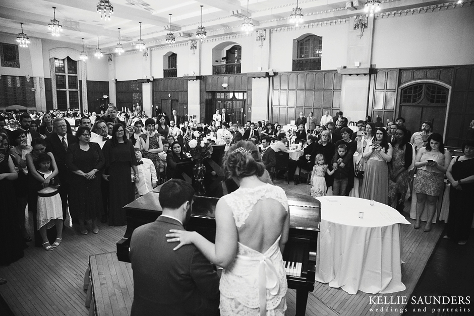 ANN ARBOR MICHIGAN LEAGUE WEDDING