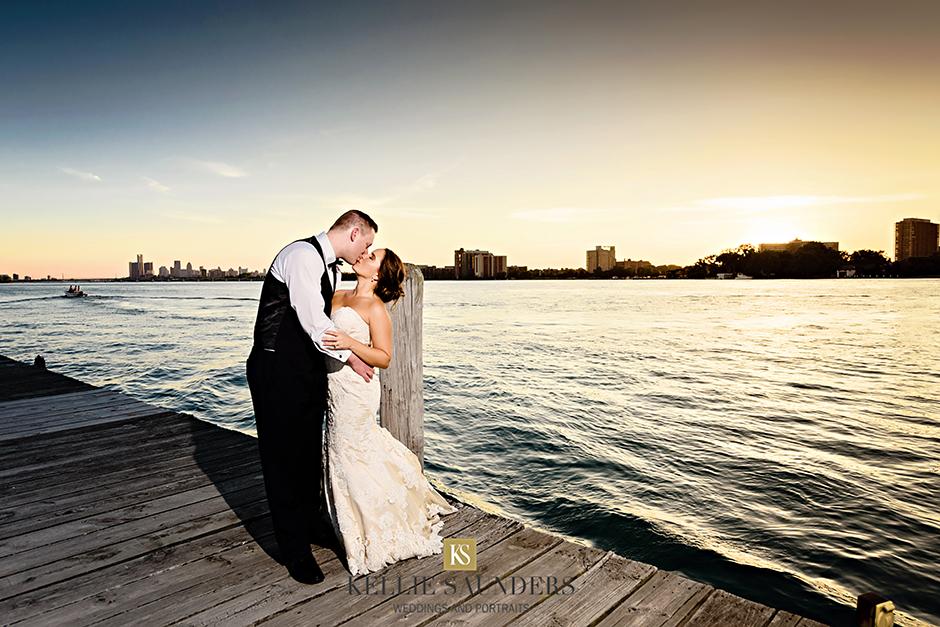 Grace Matt Detroit Yacht Club Wedding