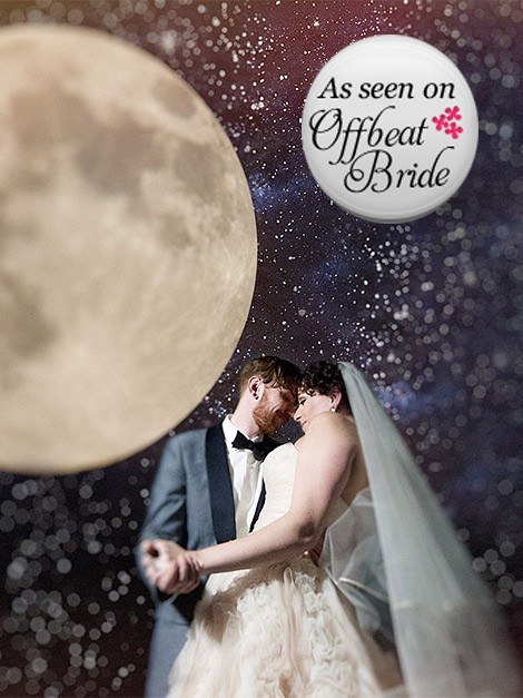 OFFBEAT BRIDE: Stacy and Mikey